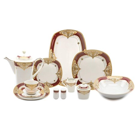Royalty Porcelain 49-pc