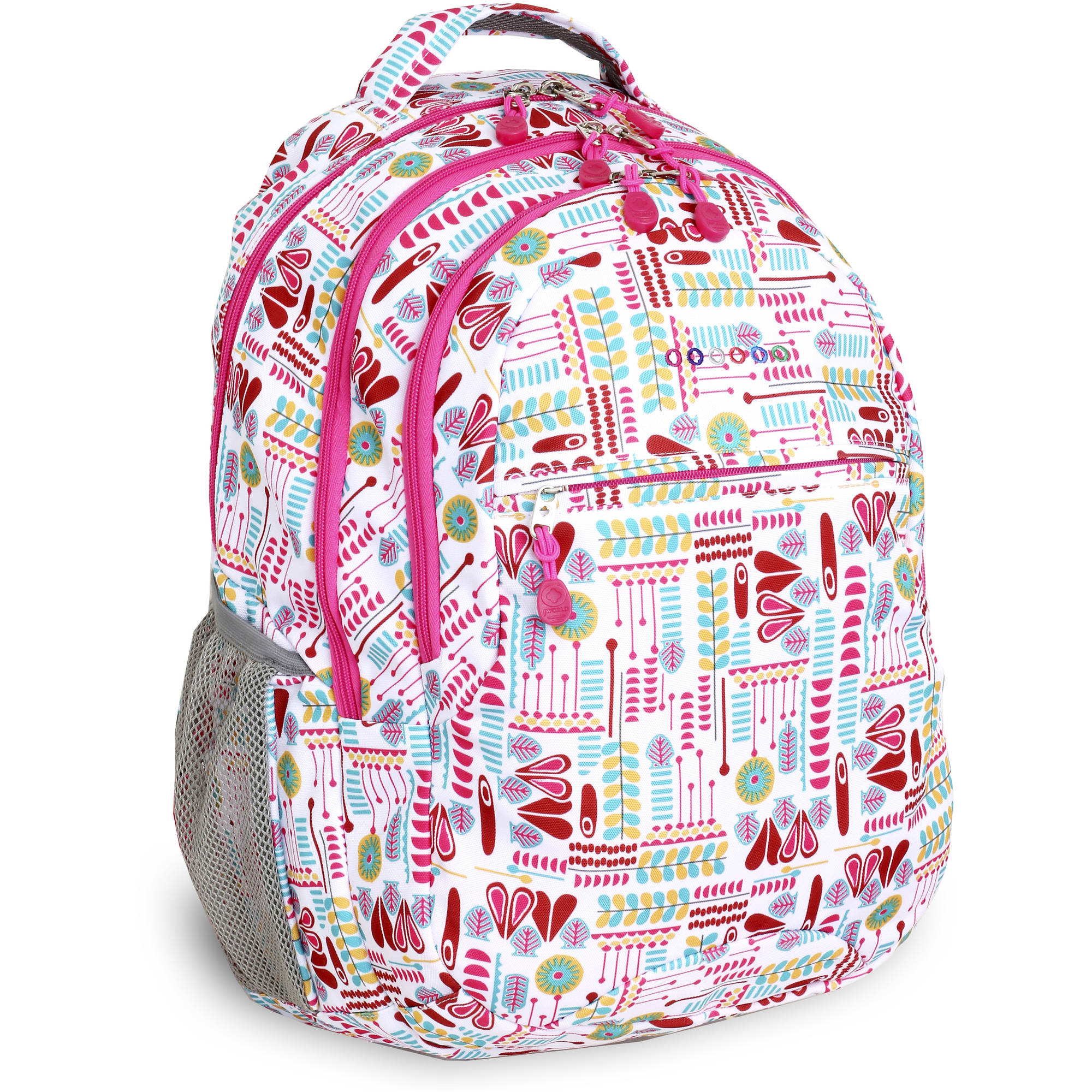 J World Cornelia Laptop Backpack, Heart Factory