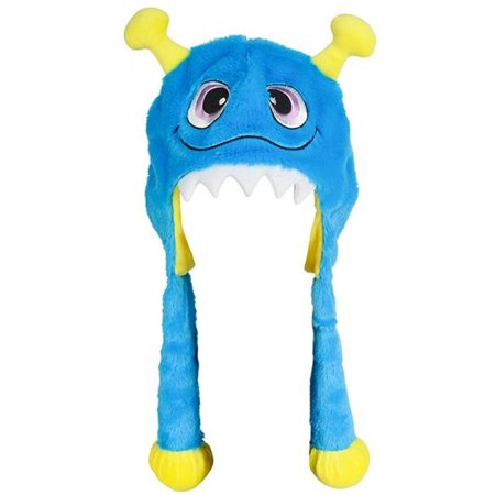 Halloween Character Cute Blue Monster Plush Hat Costume Accessory - Cute Halloween Monsters