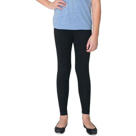ToBeInStyle Girls' Full-Length Seamless Polyester Blend Leggings
