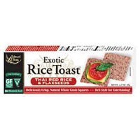 Edward   Sons Thai Red   Flaxseed Rice Toast  12X2 25 Oz    Value Bulk