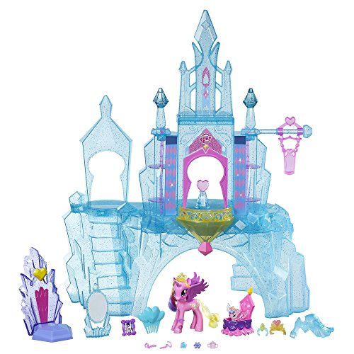 My Little Pony Equestria Crystal Empire Castle by Hasbro