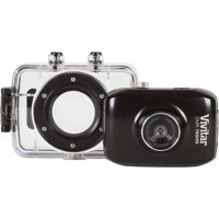Vivitar DVR 785 HD - Action camera - mountable - High Definition - 5.1 MP - underwater - black
