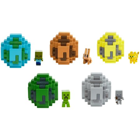 Minecraft Spawn Egg and Mini Figure (Styles May Vary)