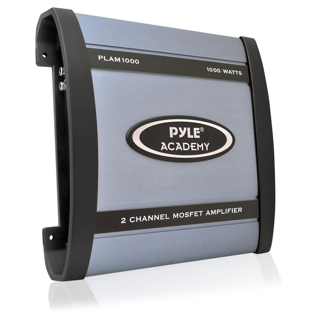 PYLE PLAM1000 - 1000-Watt 2-Channel Bridgeable Amplifier
