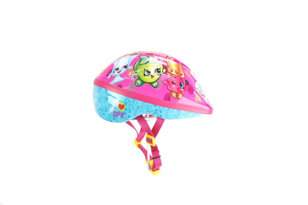 SHOPKINS CHILDRENS TV SAFETY CHILD HELMET BRAND NEW BOXED PINK BIKE HELMET