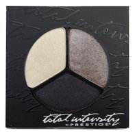 Prestige Cosmetics Total Intensity Bold Trio Eyeshadow, Smoke and Mirrors, 0.09 Ounce
