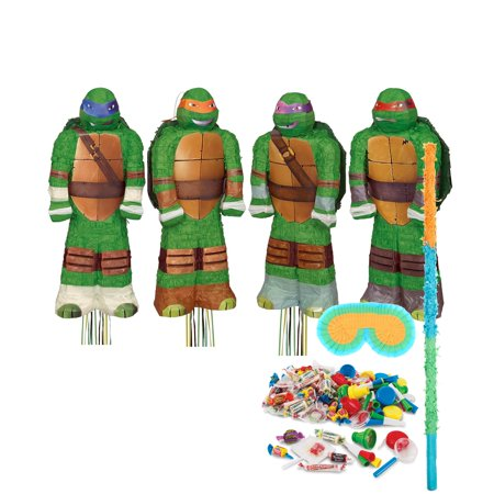 Teenage Mutant Ninja Turtles Shaped Pinata Kit for $<!---->
