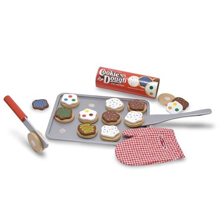 Melissa Doug Deluxe Wood (Melissa and Doug Slice and Bake Cookie Set Wooden Play)