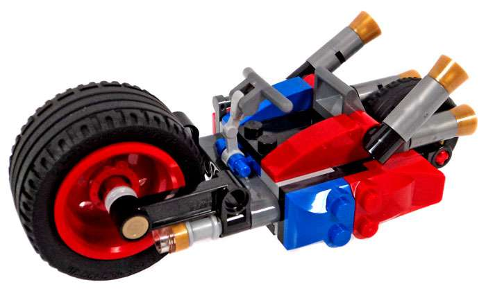 Lego DC Harley Cycle Loose Vehicle by
