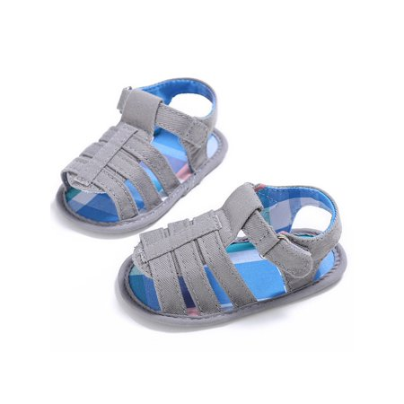 Sawpy - Sawpy Walker Shoes Anti-Slip Soft Sole Sandals New Style Summer Kids  Boys And Girls Canvas Walker Shoes Baby Fashion Non-slip Shoes - Walmart.com 611a4103d074