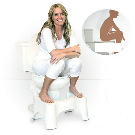 Home Toilet Stool Thick Squatty Potty Non-Slip Bathroom Toilet Footstool - image 6 of 7