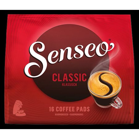 Senseo Classic Roast Coffee Pods, 16 Count (Pack of 1)