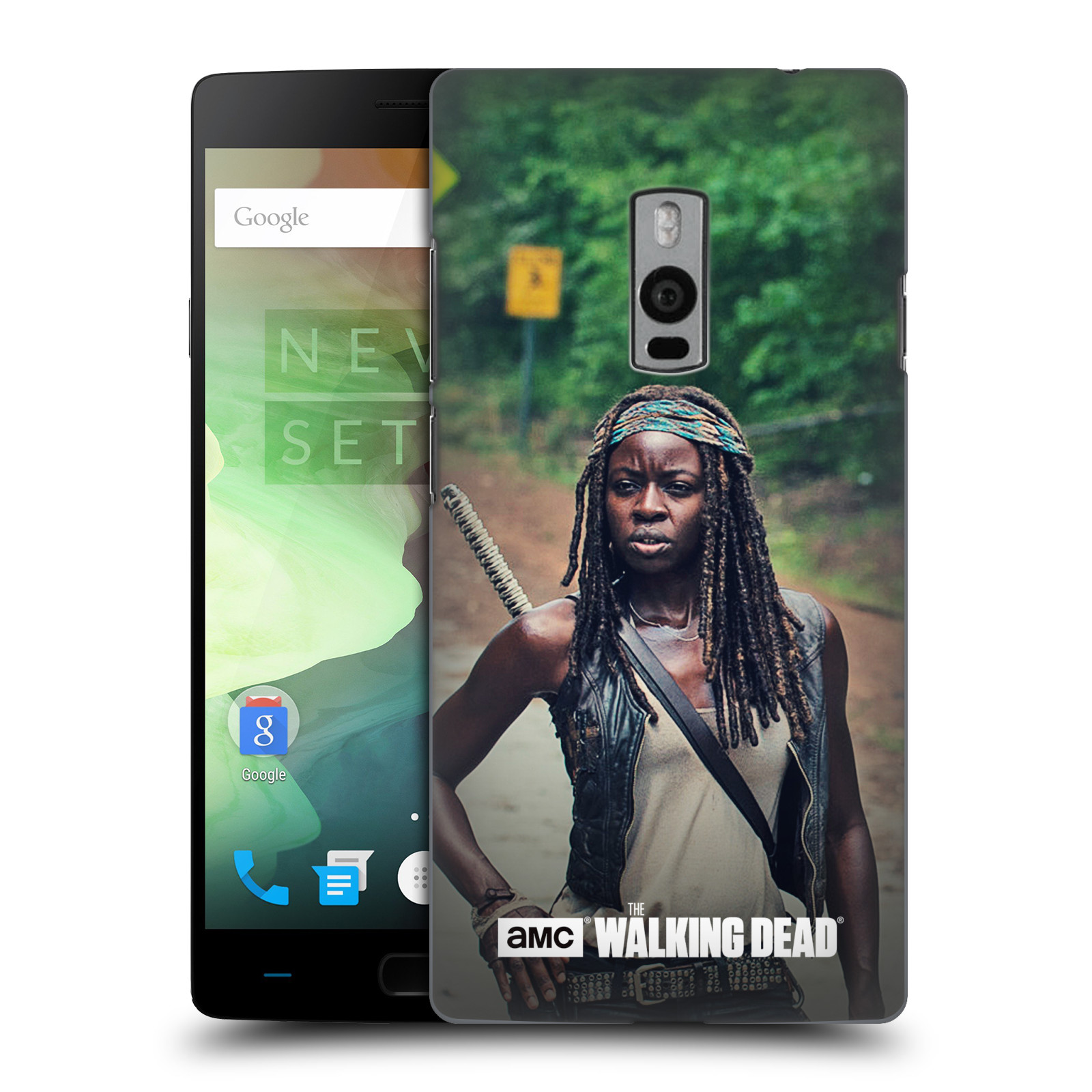 OFFICIAL AMC THE WALKING DEAD MICHONNE HARD BACK CASE FOR ONEPLUS ASUS AMAZON