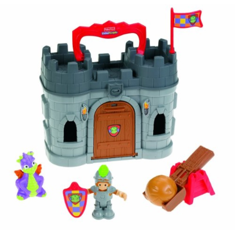 Fisher Price Little People Play 'n Go Castle by Little People