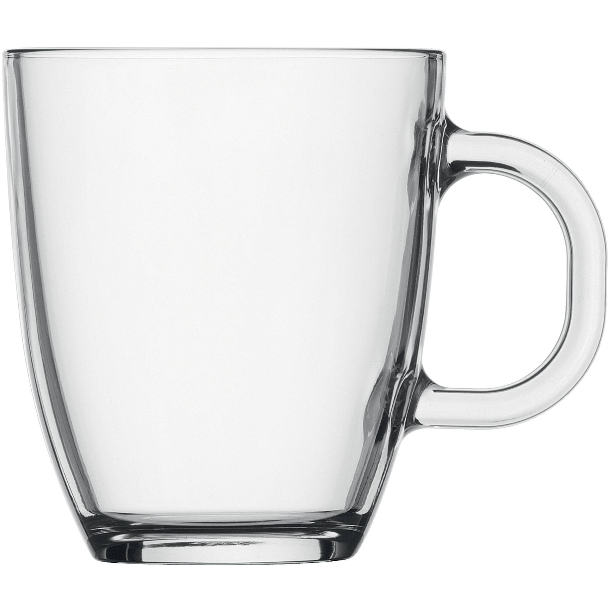 Bodum BISTRO Coffee Mug, Dishwasher Safe, .35 L, 12 Ounce, Transparent by Bodum