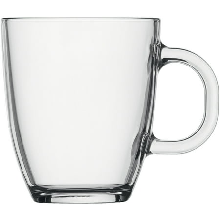 Bodum BISTRO Coffee Mug, Dishwasher Safe, .35 L, 12 Ounce, Transparent