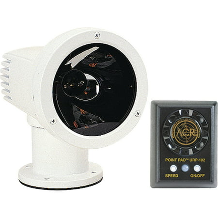 - ACR Electronics RCL-50B Remote Control Searchlight 12V, Includes URP-102 Point Pad and URC-102 Master Controller 80K CD