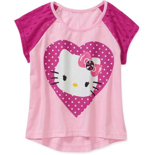 Hello Kitty Girls Fashion Top