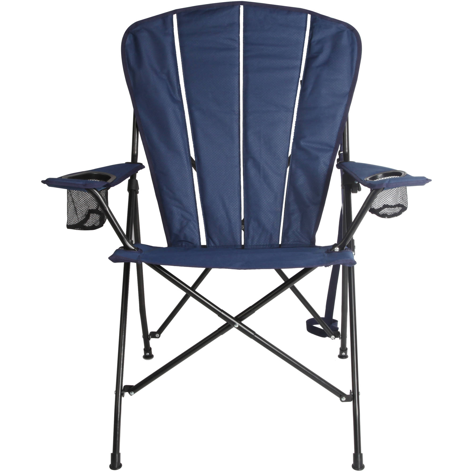 Ozark Trail Deluxe Camping Adirondack Chair, Navy