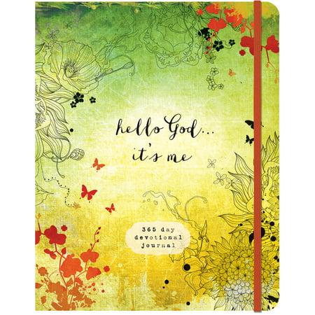 Hello God...It's Me : A 365-Day Devotional (Gods Promises Devotional Journal)
