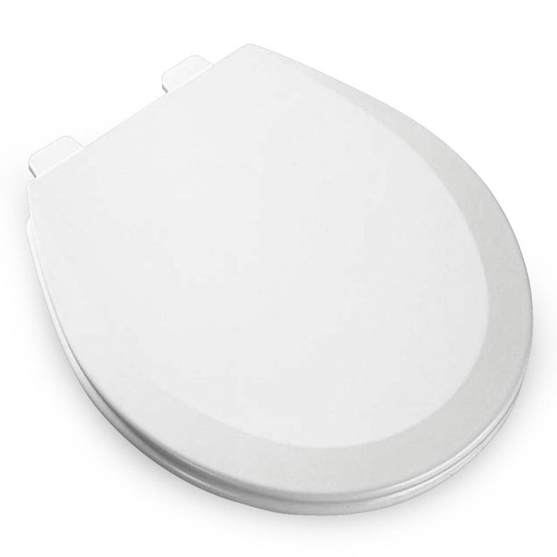bemis 500ec liftoff wood round toilet seat available in various colors