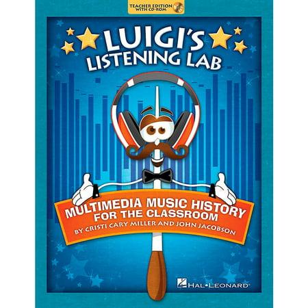 Hal Leonard Luigi's Listening Lab - Multimedia Music History for the Classroom Book/CD-ROM