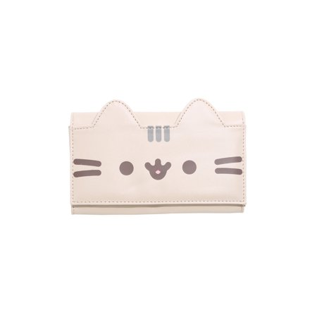 Pusheen The Cat Flap Coat Wallet (Turnlock Flap Wallet)