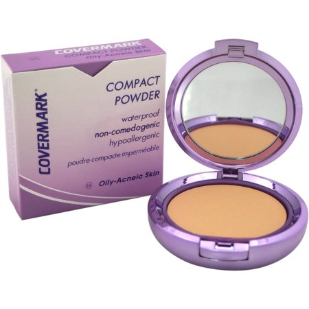 Covermark for Women Compact Powder Waterproof # 1A Oily-Acneic Skin, 0.35