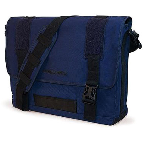Mobile Edge Eco-Friendly Canvas Messenger Bag, Navy