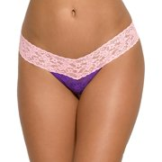 Hanky Panky Womens Colorplay Signature Lace Low Rise Thong Style-36106