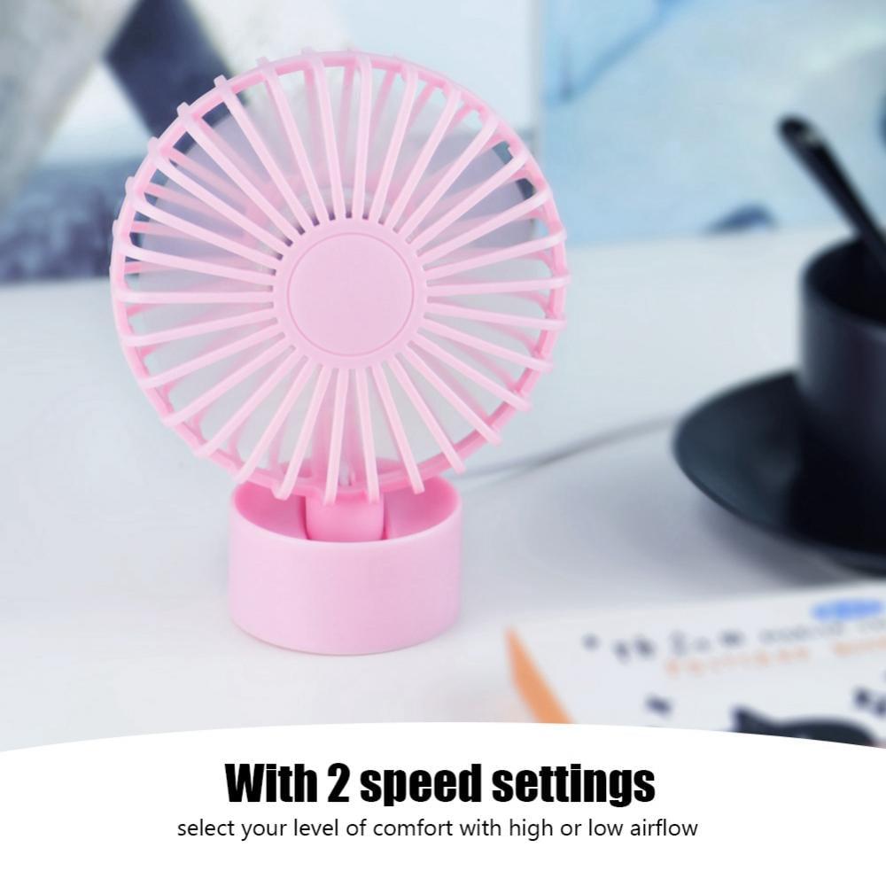 USB Mini Desk Desktop Personal Cooling Fan Quiet Operation for Home Office Dorm , Mini Fan, Desktop Fan