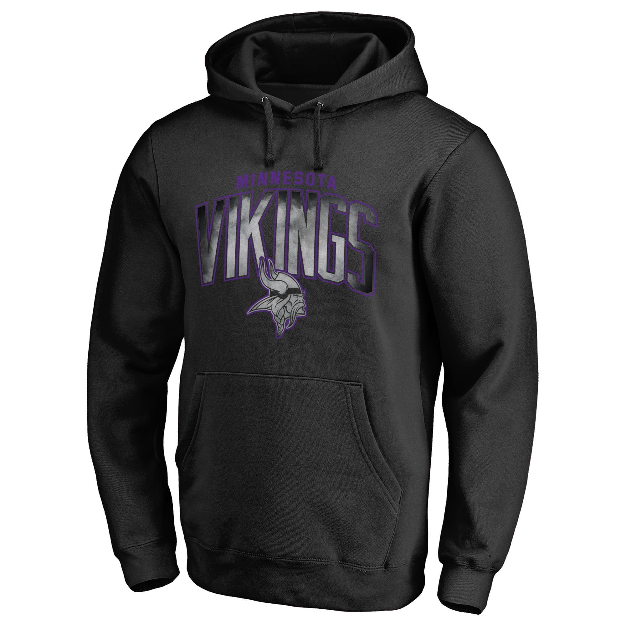 minnesota vikings black sweatshirt