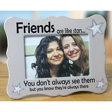 Friends Picture Frame - Ceramic Picture Frame Fits a 4