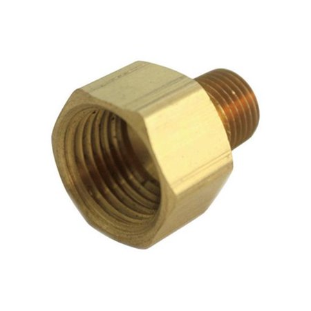 0.25 in. FPT x 0.25 in. FPT Pipe Reducer Coupling in Lead Free Yellow Brass - pack of (4 Ply Reducer Coupling)