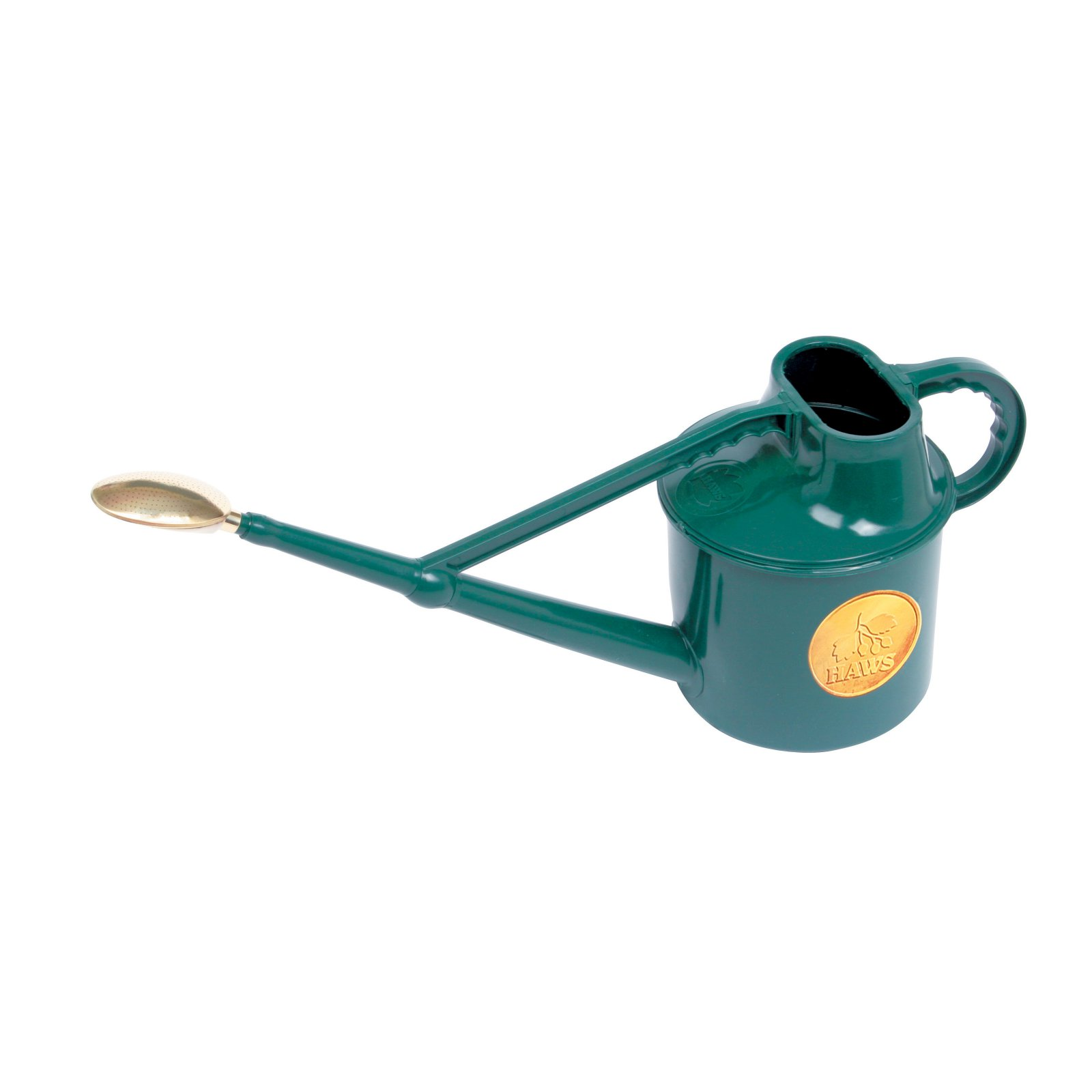 Haws 7 Liters Plastic Green Deluxe Outdoor Watering Can by Watering Cans