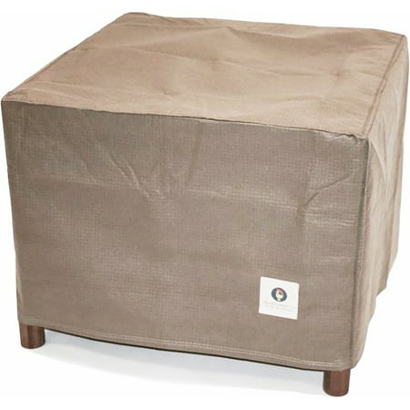 Duck Covers Elite 26 in. Square Patio Ottoman/Side Table Cover