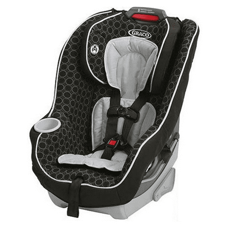 Graco Contender 65 Convertible Car Seat, Black (Shaped Card Set)