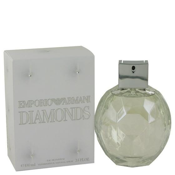 800489c01d Giorgio Armani Emporio Armani Diamonds Eau De Parfum Spray for Women 3.4 oz