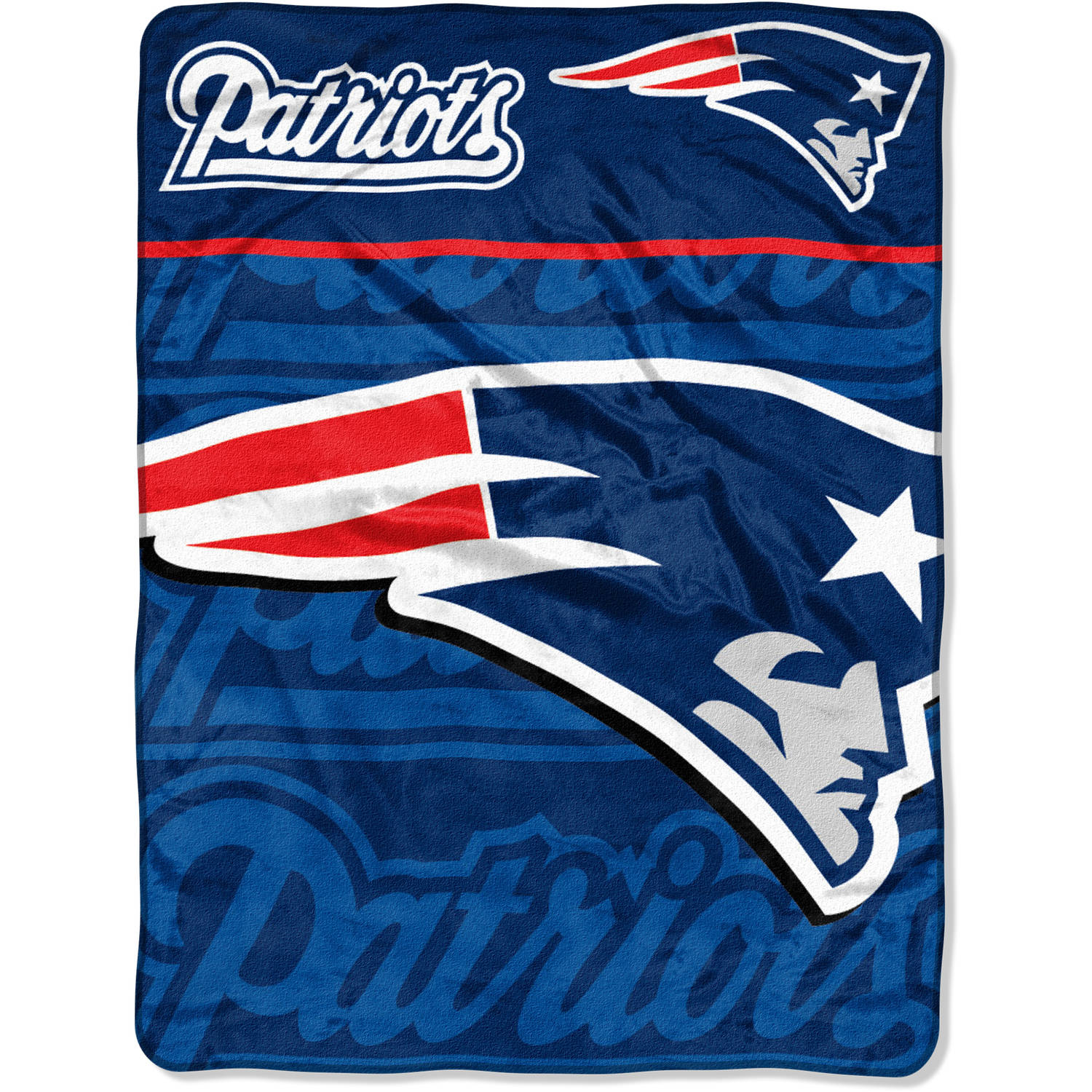 "NFL New England Patriots 46"" x 60"" Micro Raschel Throw"