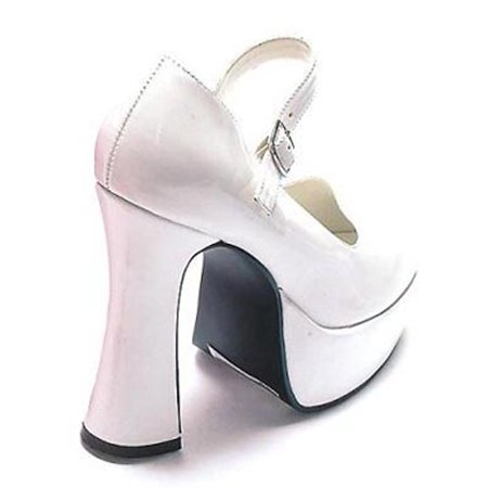 Adult White Mary Jane Shoes Ellie Shoes 557](Jane Costume Daria)