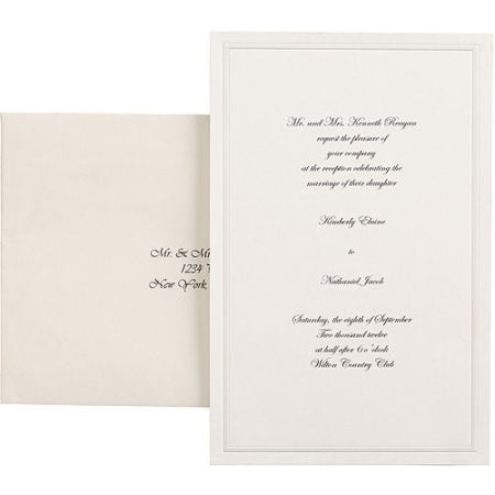 (Wilton Invitation Kit, 100 Ct)