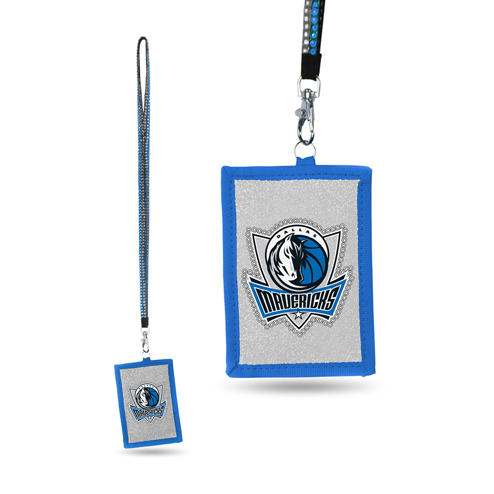 Dallas Mavericks NBA Lanyard with Nylon Wallet