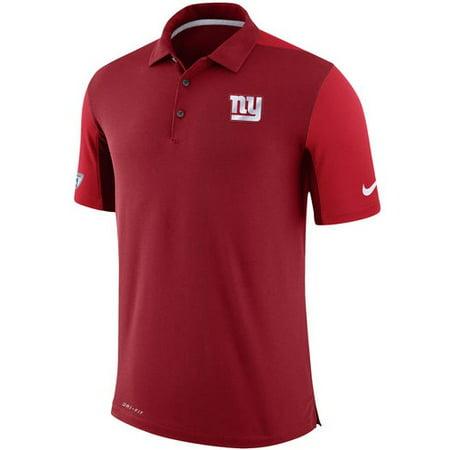 New York Giants Nike Sideline Team Issue Logo Performance Polo - (Sideline Performance Polo)