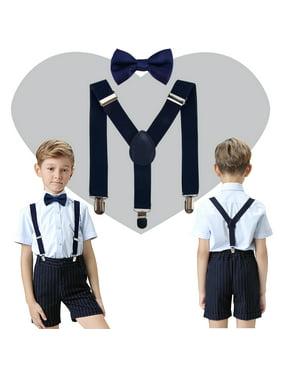 5bb24f4a994 Product Image Kids Boys Elastic Suspender Metal Clip Y Back Adjustable  Suspenders Bow Tie Set for Wedding Party