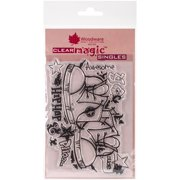 """Woodware Clear Stamps, 3.5"""" x 5.5"""""""