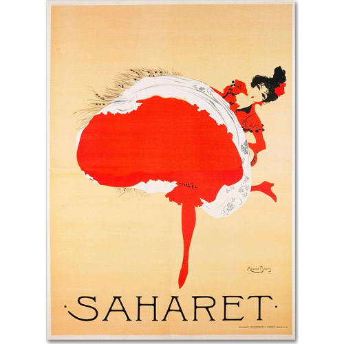 "Trademark Fine Art ""Saharet"" Canvas Art by Vintage Apple Collection"