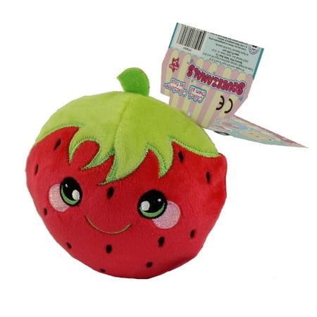 License 2 Play - Squeezamals Scented Plush S3 (Desserts) - OLIVIA STRAWBERRY (Small 3.5