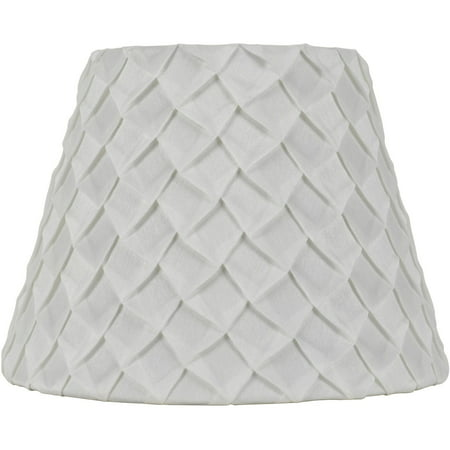 Better Homes & Gardens White Pleated Table Lamp Shade ()