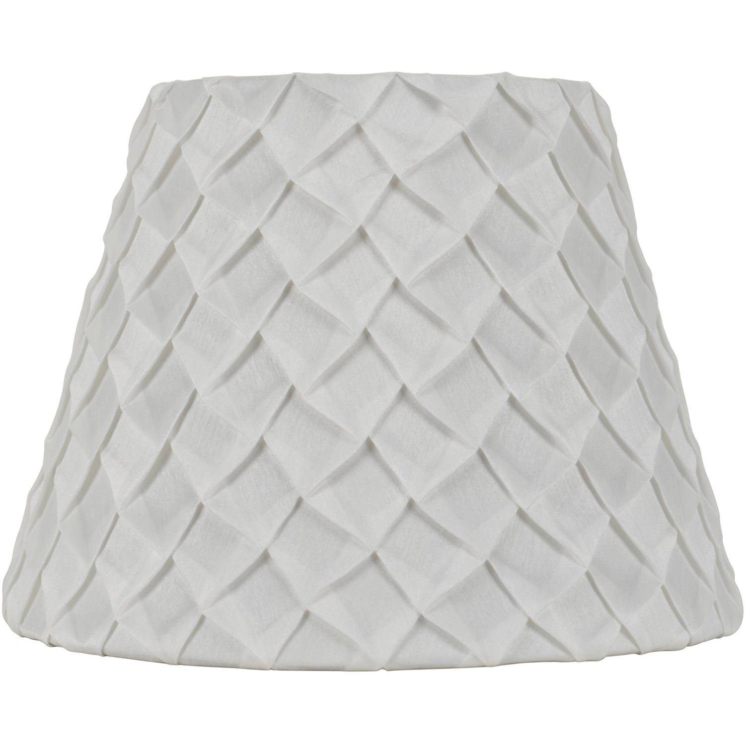 Better Homes & Gardens White Pleated Table Lamp Shade